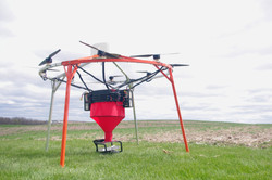 Large agricultural drone manufacturer |Aeroseeder - UAV LLC | Iowa