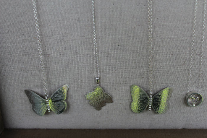 hannah kyriakou butterfly necklaces