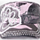 Thumbnail: Bling Paw Print Military Style Hat Pink Camouflage
