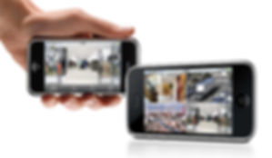 Vidéosurveillance smartphone Iphone