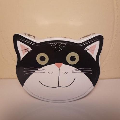 Boîte chat blanc
