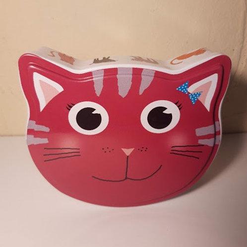 Boîte chat rose