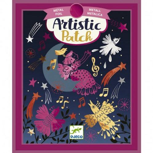 """Artistic patch """"ritournelle"""""""