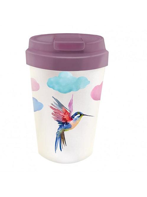 "Mug transport bambou ""colibri"""