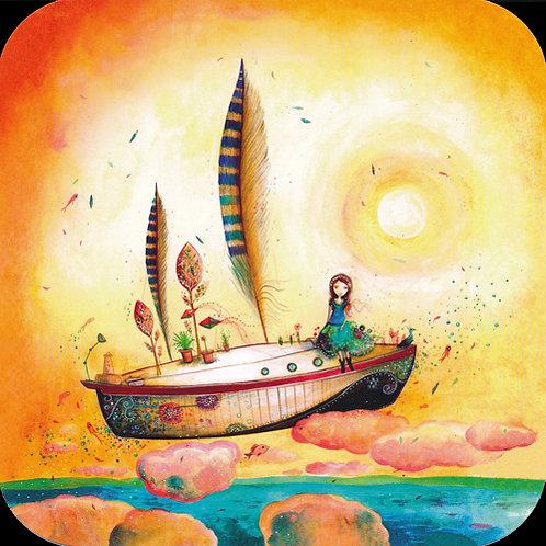 Le bateau plume