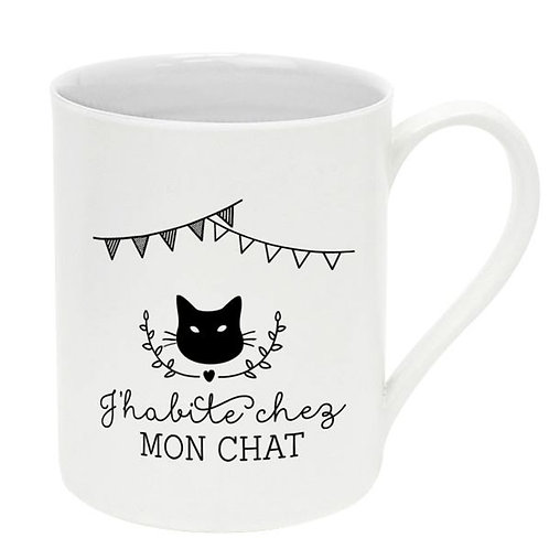 Tasse mon chat