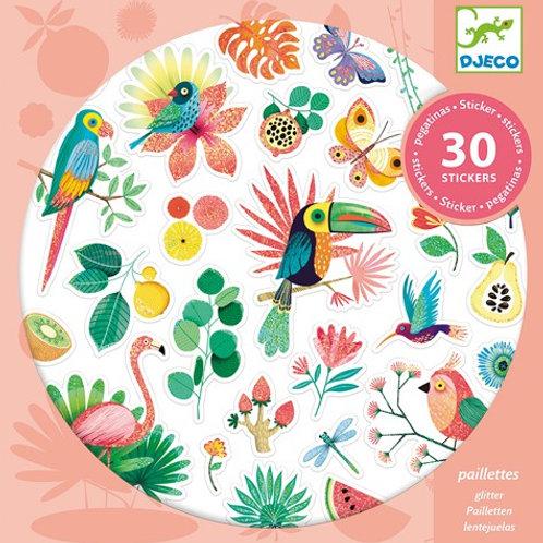 30 Stickers Paradise