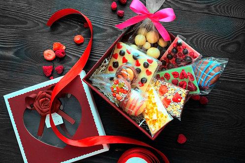 Подарочный набор из бельгийского шоколада.№9