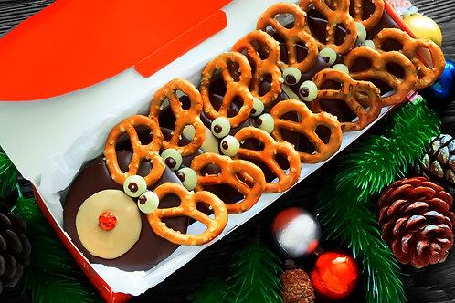 """Подарочный набор """"Шоколадные олени"""" 10 шт."""
