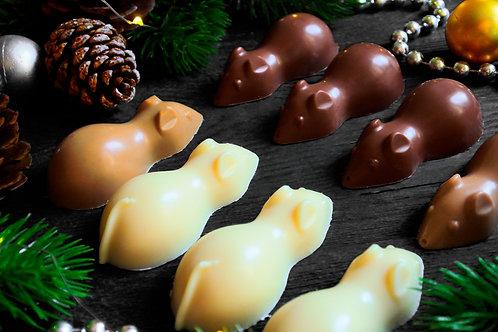 "Шоколадная фигурка ""Мышка"""