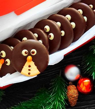 """Подарочный набор """"Шоколадные пингвины"""" 10 шт."""