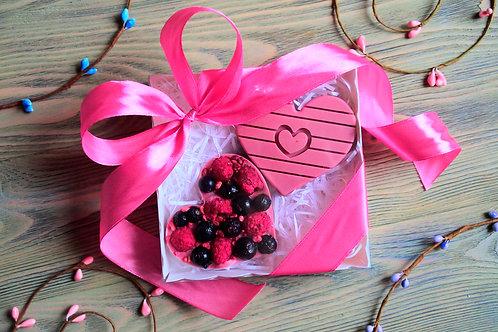 """Рубиновый шоколад """"С любовью"""""""