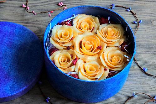 Розы ручной работы из французского шоколада