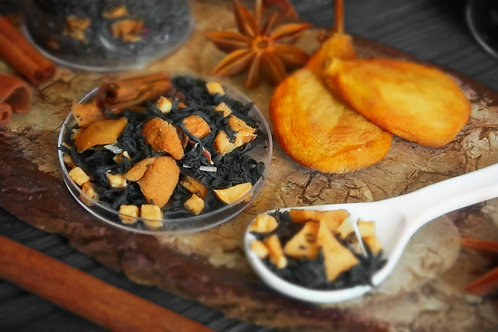 Чай с грушей, корицей и яблоками Чай с малиной и ежевикой (100 гр.)