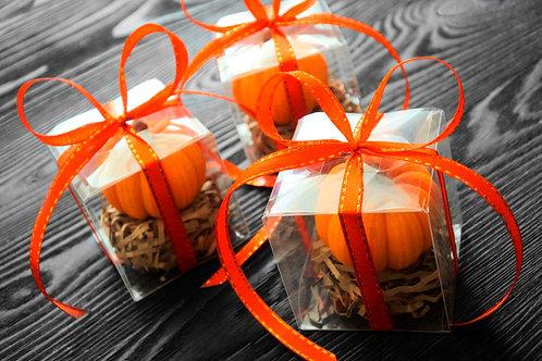 Тыква из апельсинового шоколада (2 шт.)