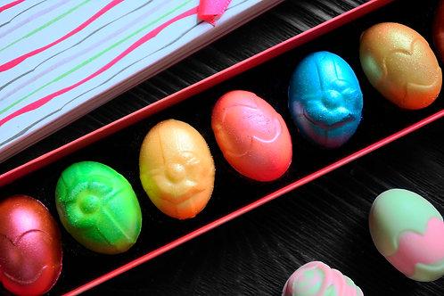 """Шоколадные конфеты """"Пасхальные яйца"""" - 7 шт."""