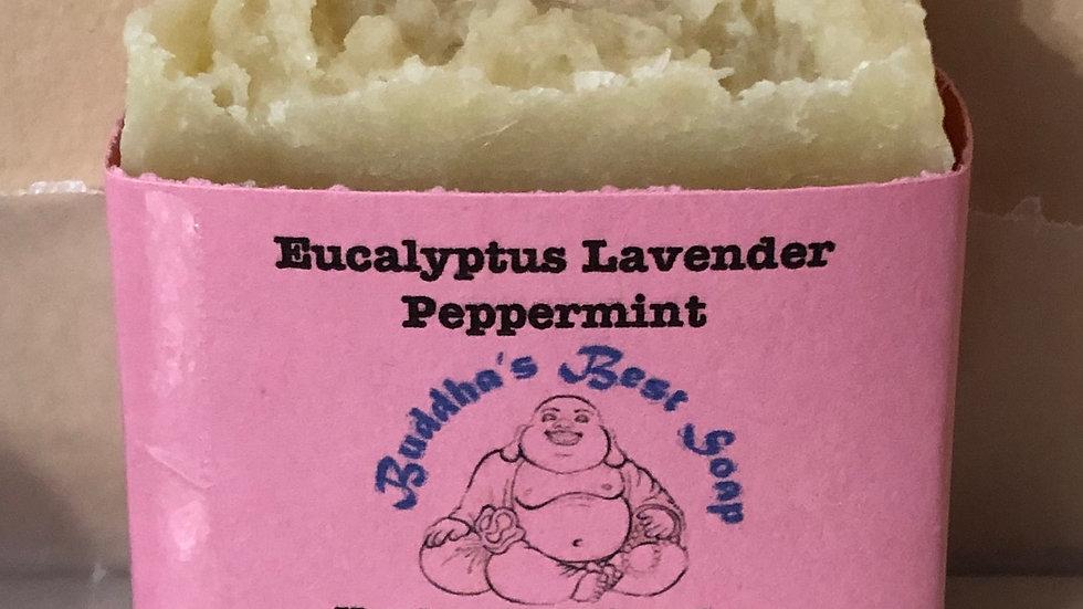 Eucalyptus Lavender Peppermint Soap