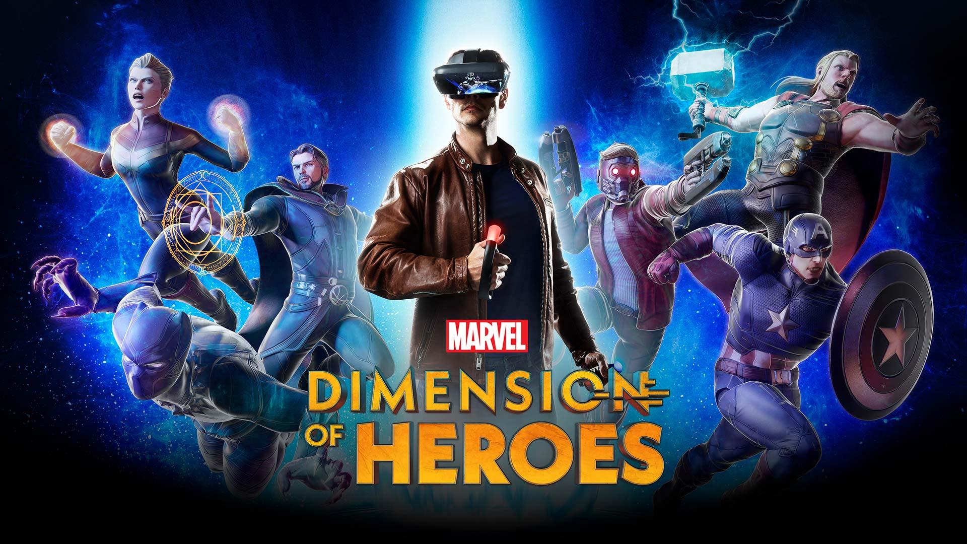 Lenovo Marvel Heroes AR
