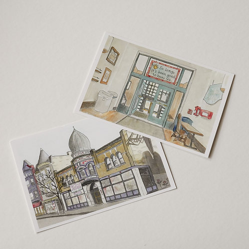 Old Town School Postcards