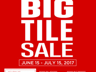All Home Big Tile Sale