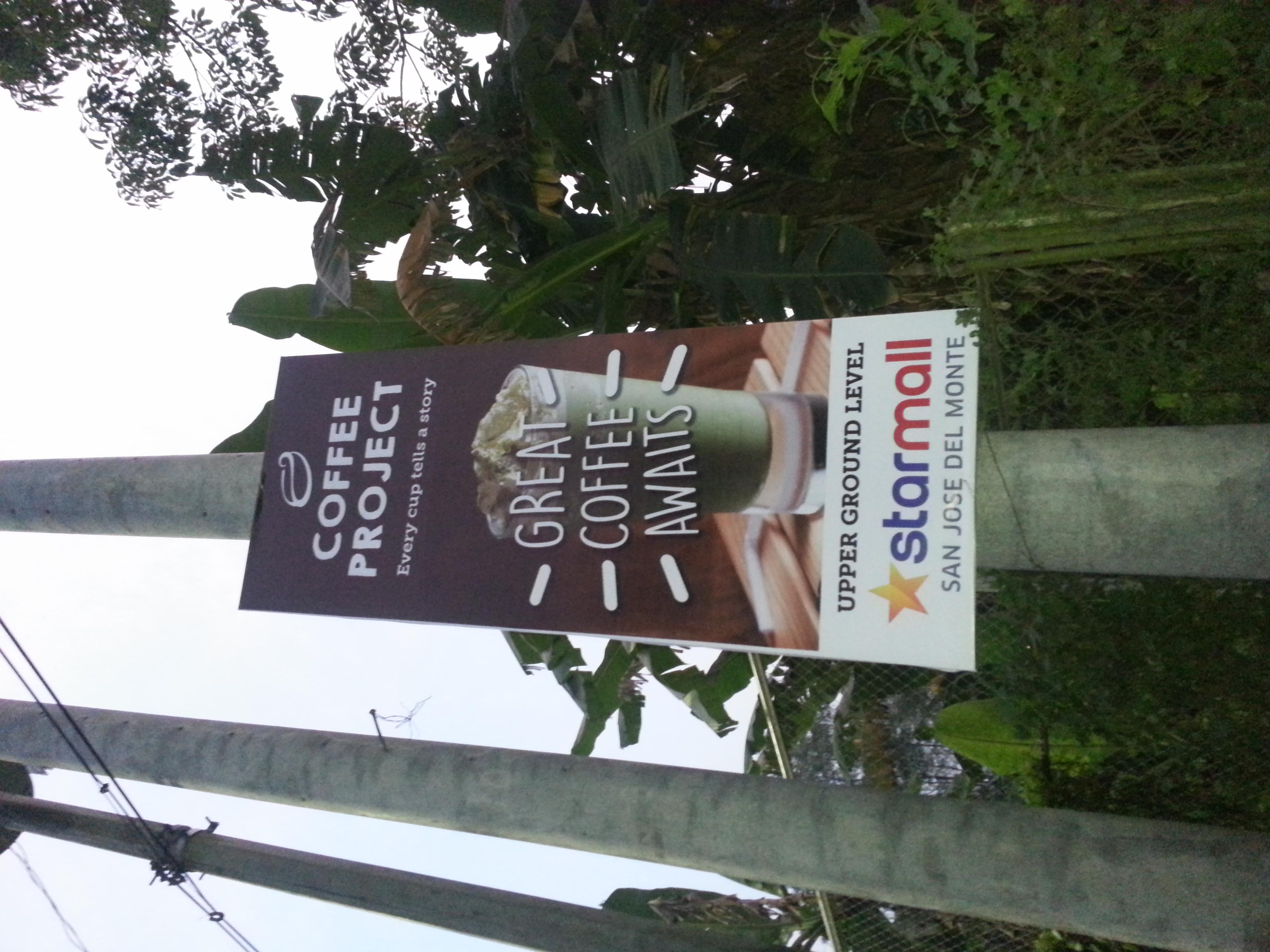 Coffee Project Starmall San Jose