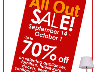 ALL OUT SALE by AllHome