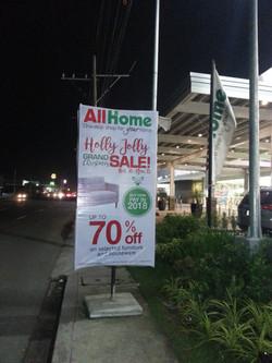 AllHome Holly Jolly Promo