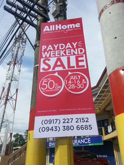 All Home's Payday Weekend Sale