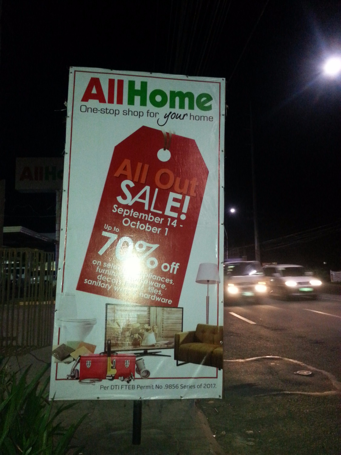 All Home's All Out Sale