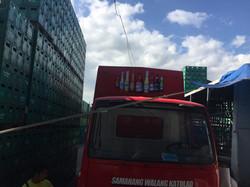 Truck Sticker Ad