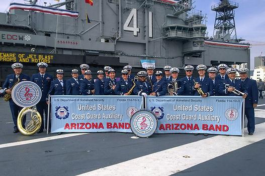USCG Aux AZ Band