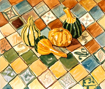 Gourds on the Papal Bedroom Floor