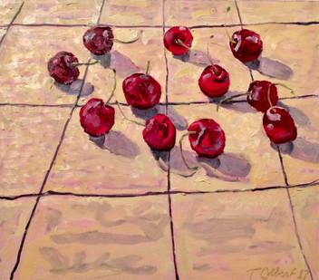 Eleven Bing Cherries