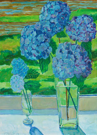 Hydrangea by the River