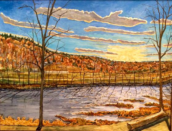 Warn November River Sunset