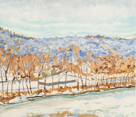Riverscape in Winter