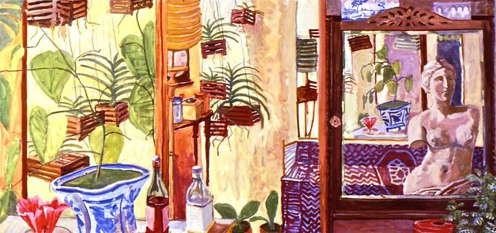 AT Home with Venus de Milo   3 panel