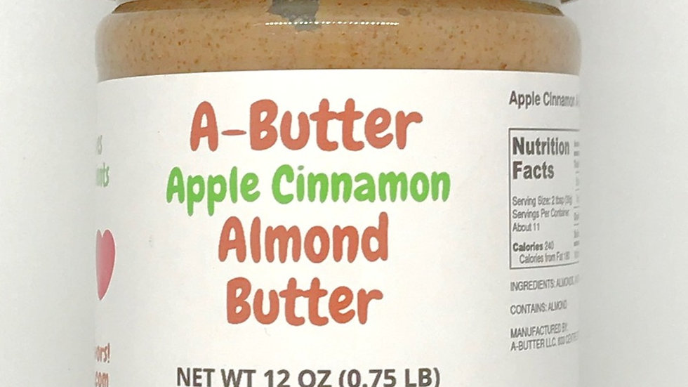 A-Butter Apple Cinnamon Almond Butter