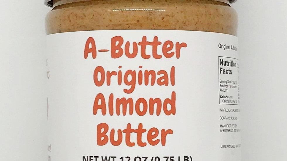 A-Butter Original Almond Butter