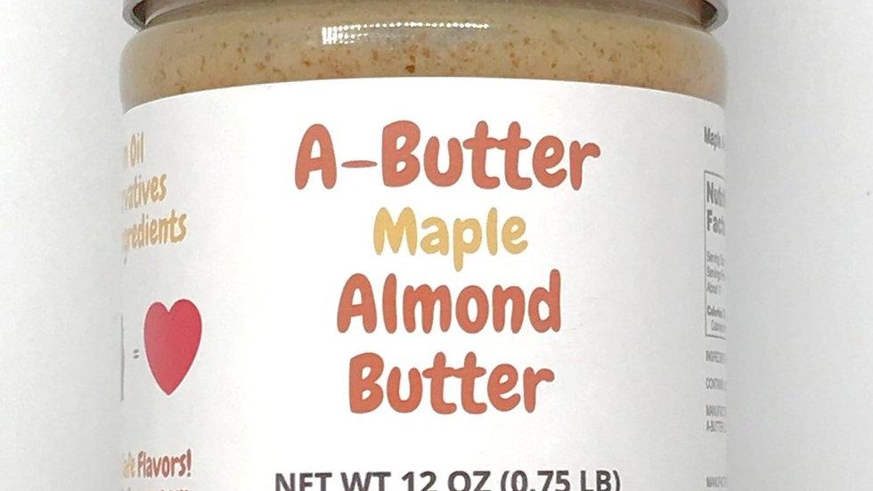 A-Butter Maple Almond Butter
