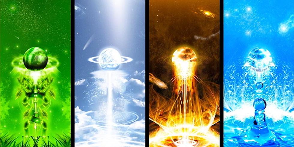 MAGIA HERMETICA AVANSATA: ELEMENTELE, SPIRITELE ELEMENTELOR SI APLICATIILE ACESTORA
