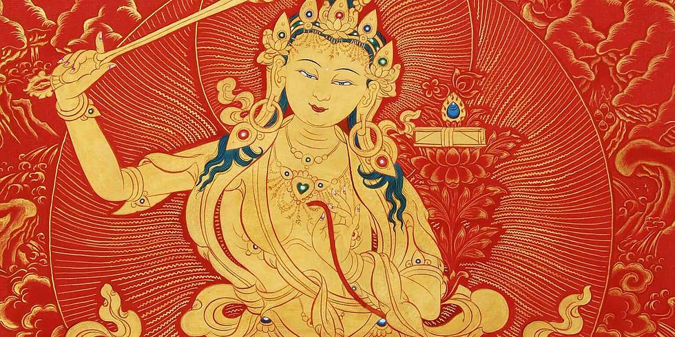 Meditatia lui Manjushri pentru Descatusarea Intelepciunii Spiritului