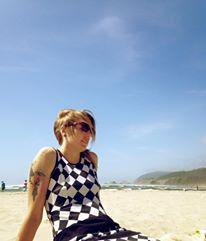 Canon Beach, David Bowie haircut