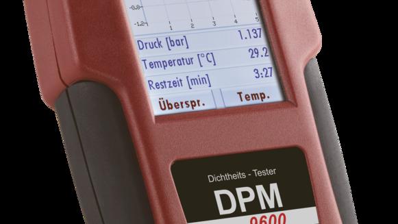 Dichtheits-Prüfgerät für Gasinstallationen DPM 9600