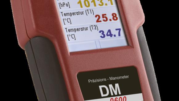 DM 9600 Präzisions-Manometer