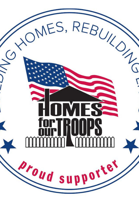 Proud Supporter of Homes for Our Troops