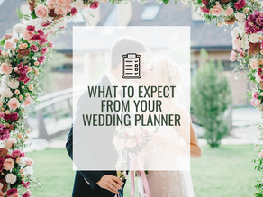 What to Expect From Your Wedding Planner