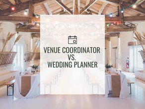 The Difference Between a Venue Coordinator & A Wedding Planner
