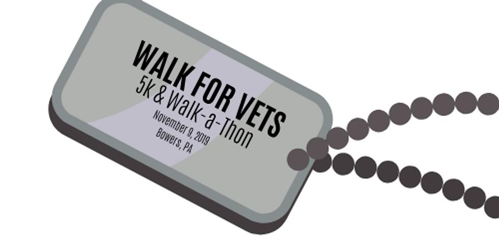 Walk for Vets 5K & Walk-a-Thon SPONSOR