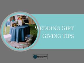Gift Giving Etiquette for Weddings